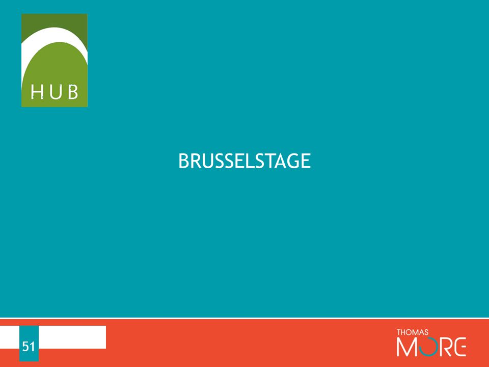 BRUSSELSTAGE