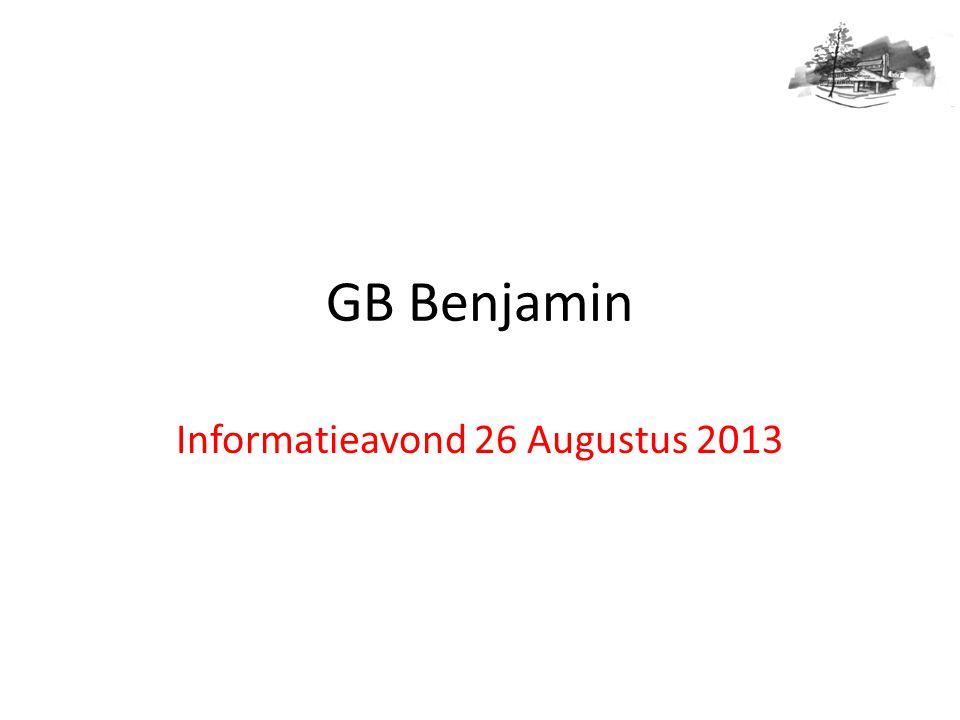 Informatieavond 26 Augustus 2013