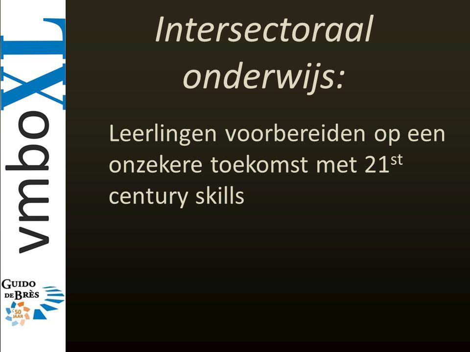 Intersectoraal onderwijs: