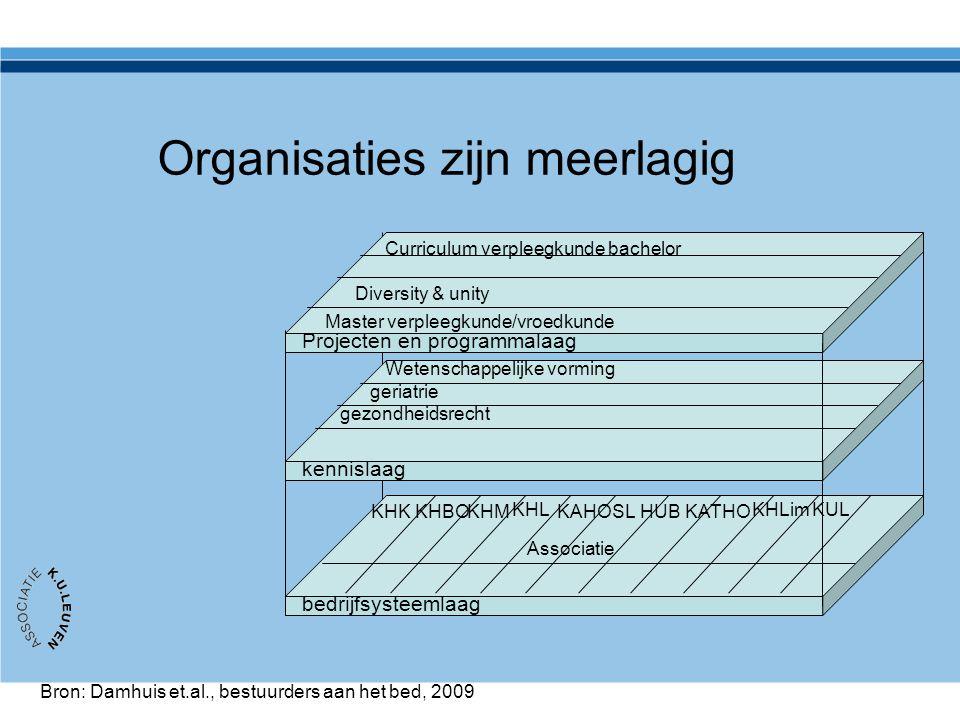 Organisaties zijn meerlagig