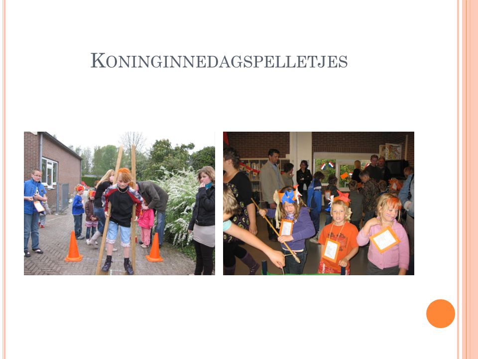 Koninginnedagspelletjes