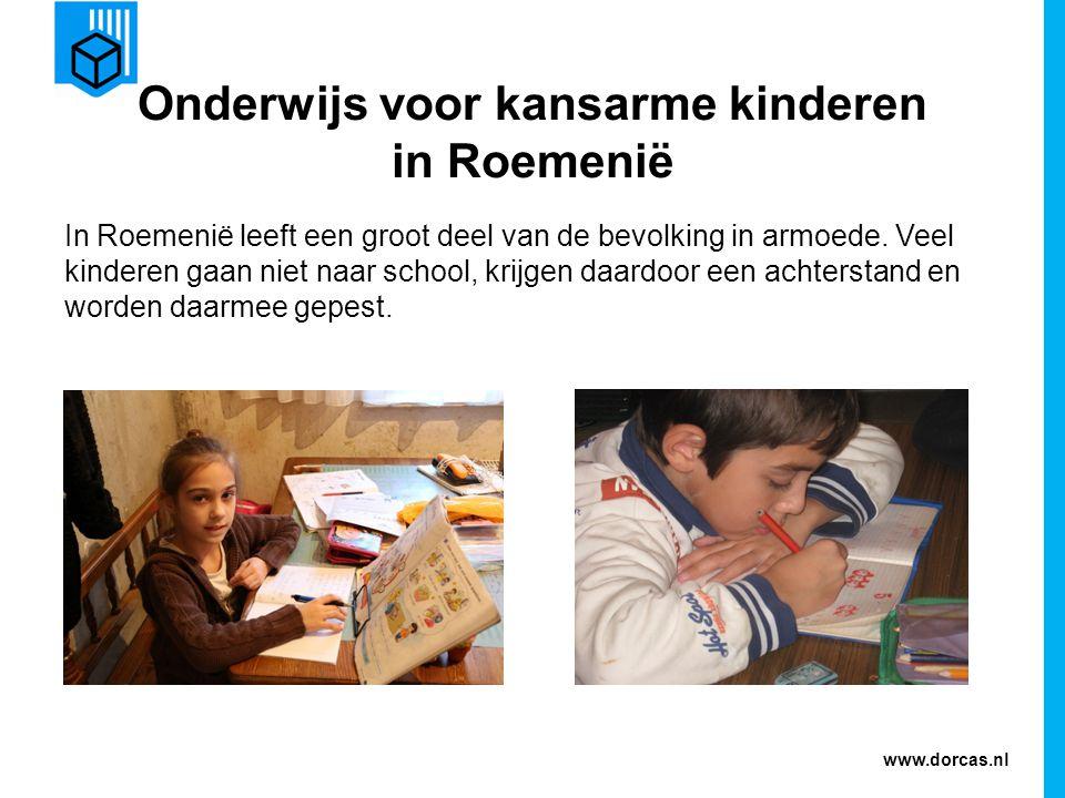 Onderwijs voor kansarme kinderen in Roemenië