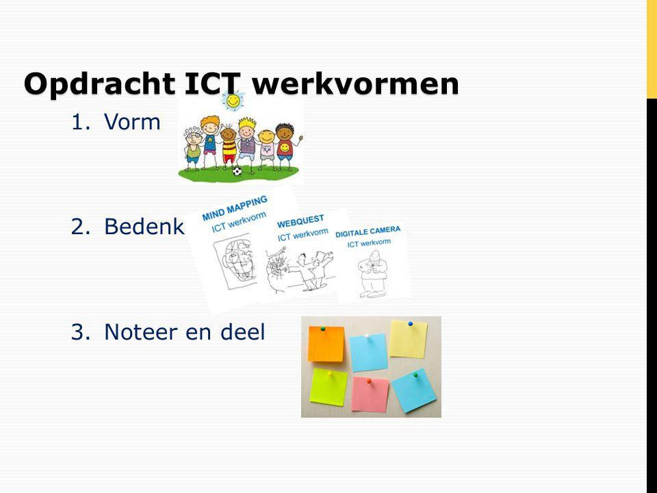 Opdracht ICT werkvormen