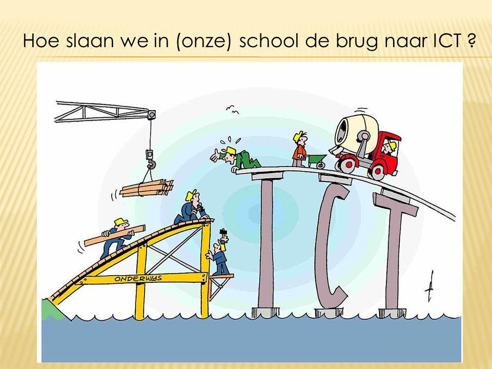 Hoe slaan we in (onze) school de brug naar ICT