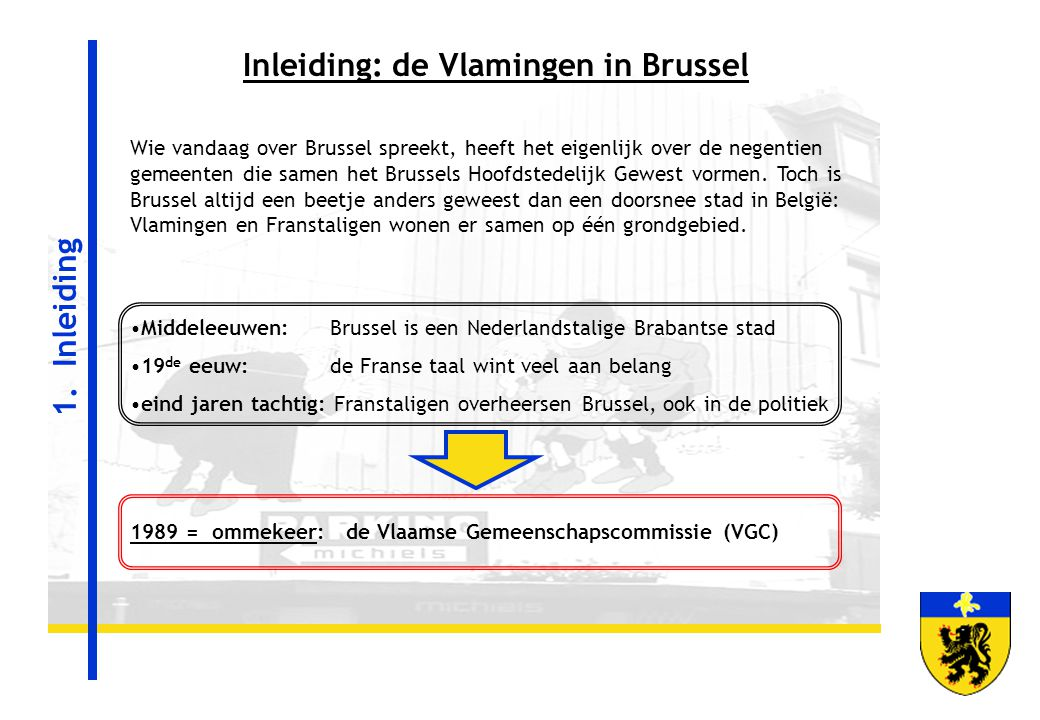 Inleiding: de Vlamingen in Brussel
