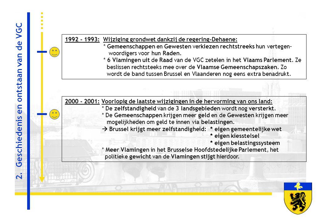 2. Geschiedenis en ontstaan van de VGC