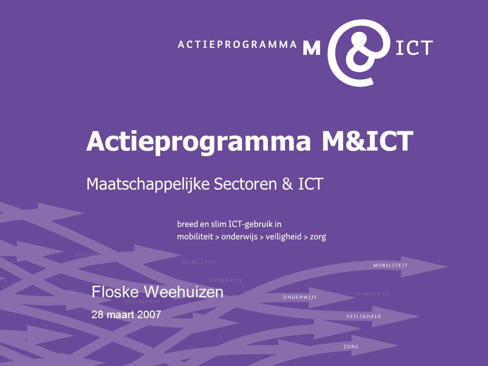 Maatschappelijke Sectoren & ICT