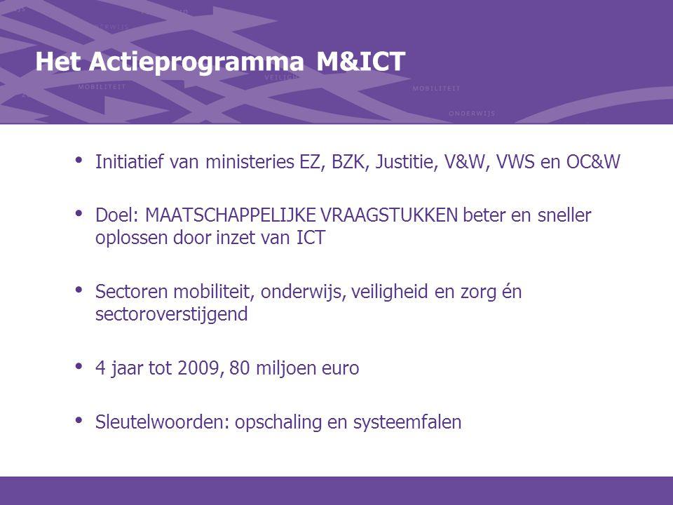 Het Actieprogramma M&ICT