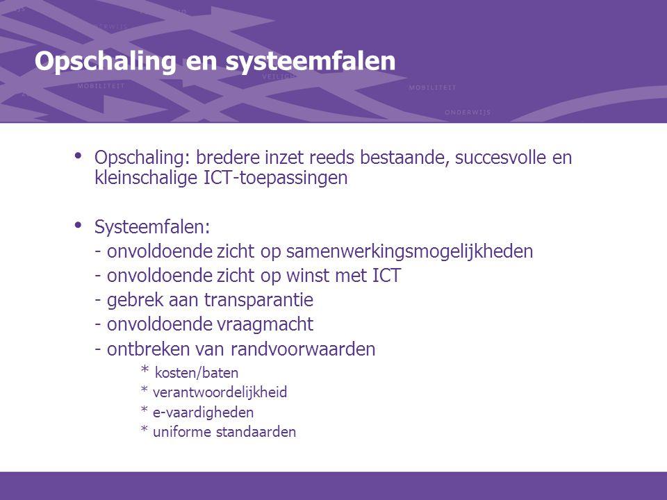 Opschaling en systeemfalen