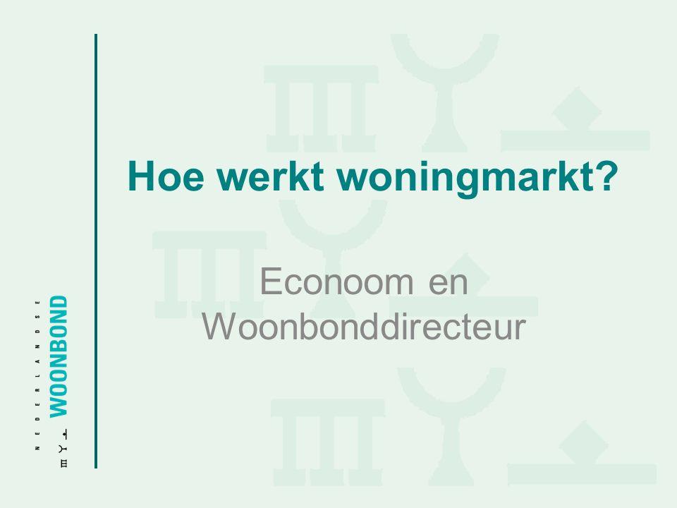 Econoom en Woonbonddirecteur
