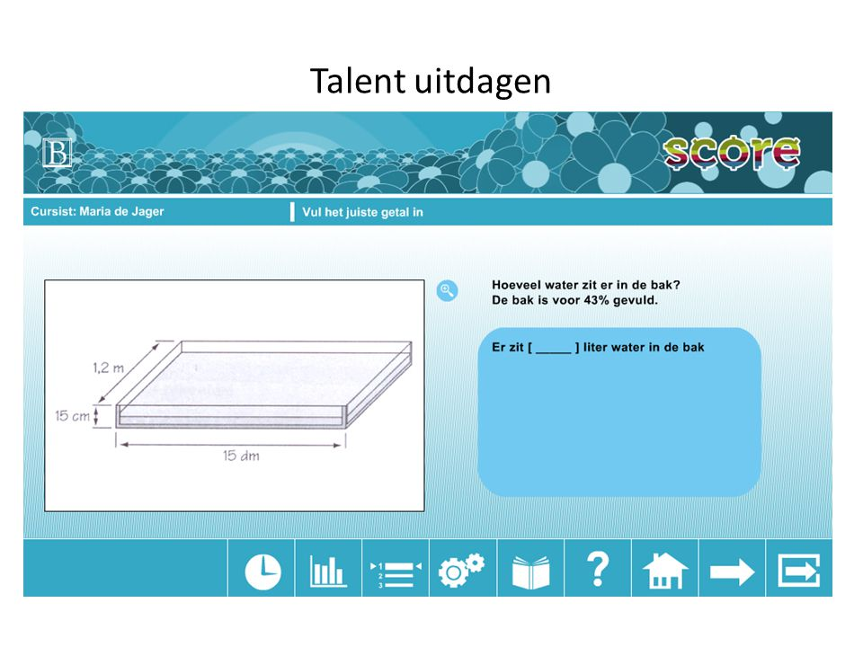 Talent uitdagen