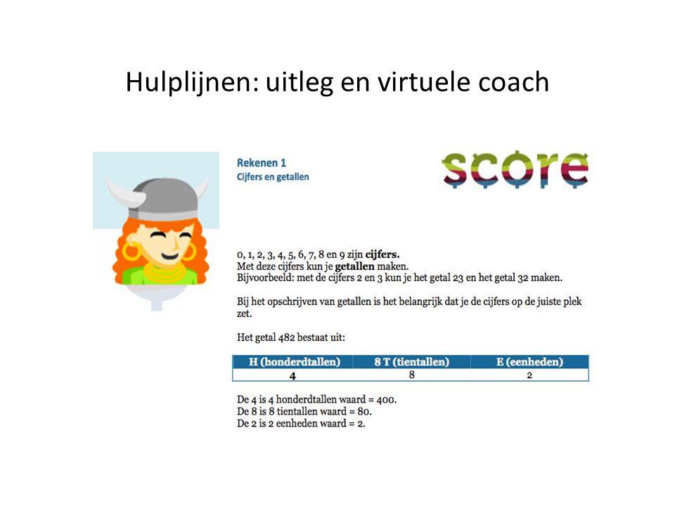 Hulplijnen: uitleg en virtuele coach
