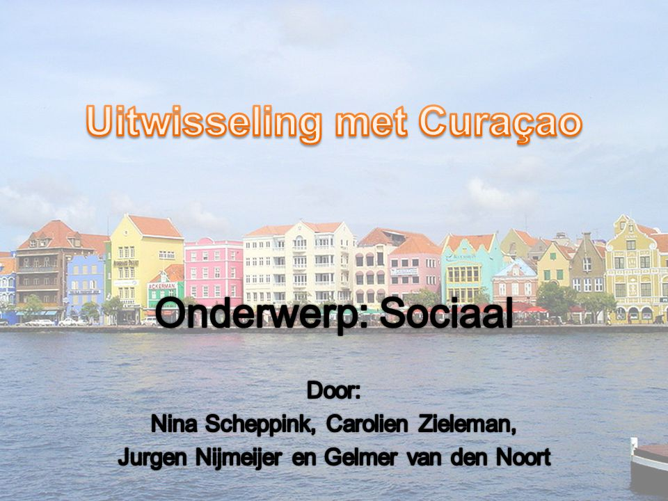 Uitwisseling met Curaçao