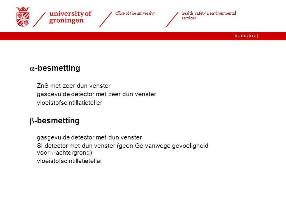 -besmetting -besmetting ZnS met zeer dun venster
