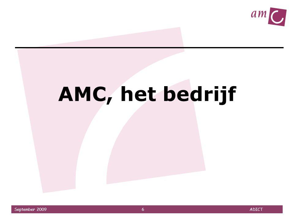 AMC, het bedrijf