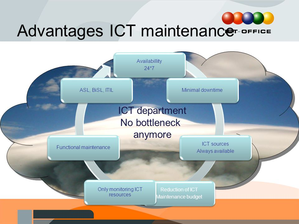 Advantages ICT maintenance