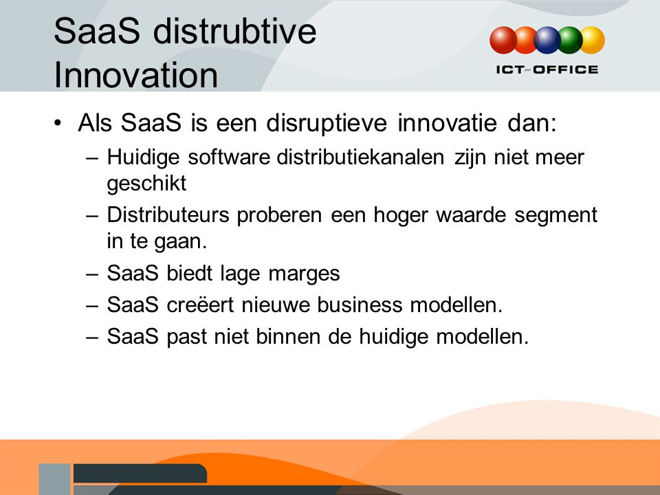 SaaS distrubtive Innovation