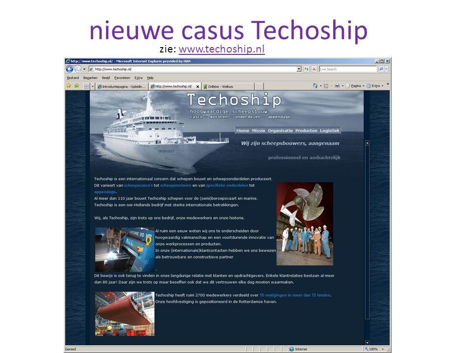 nieuwe casus Techoship