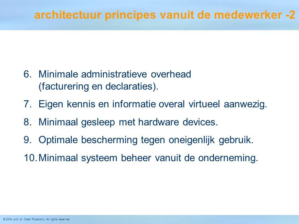 architectuur principes vanuit de medewerker -2