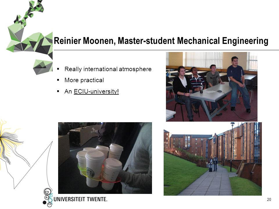 Reinier Moonen, Master-student Mechanical Engineering