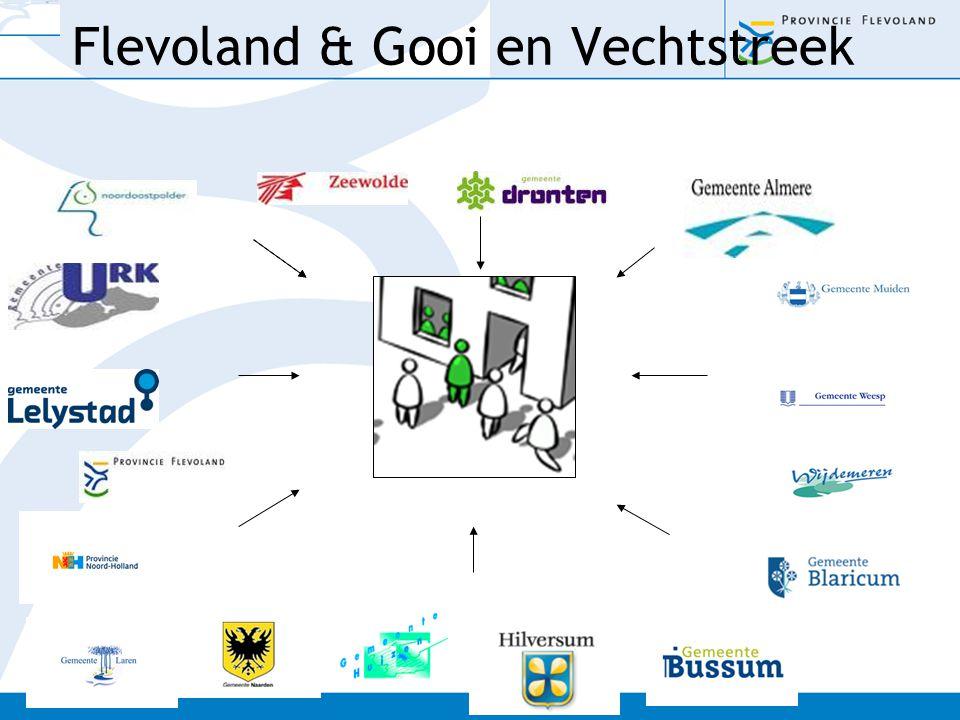 Flevoland & Gooi en Vechtstreek