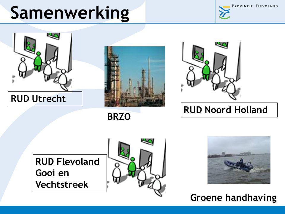 Samenwerking RUD Utrecht RUD Noord Holland BRZO