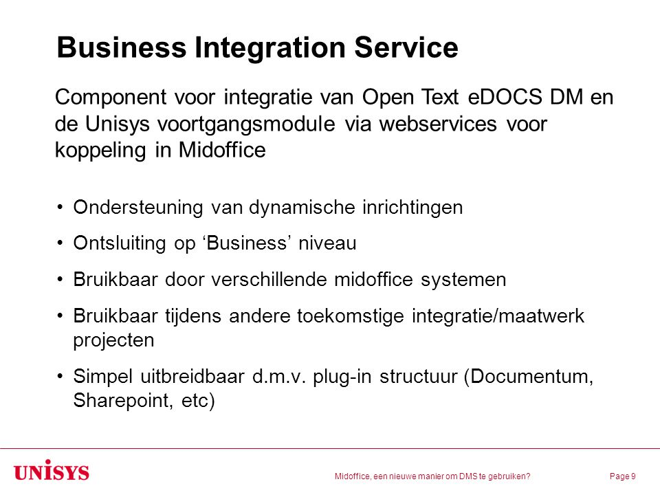 Business Integration Service