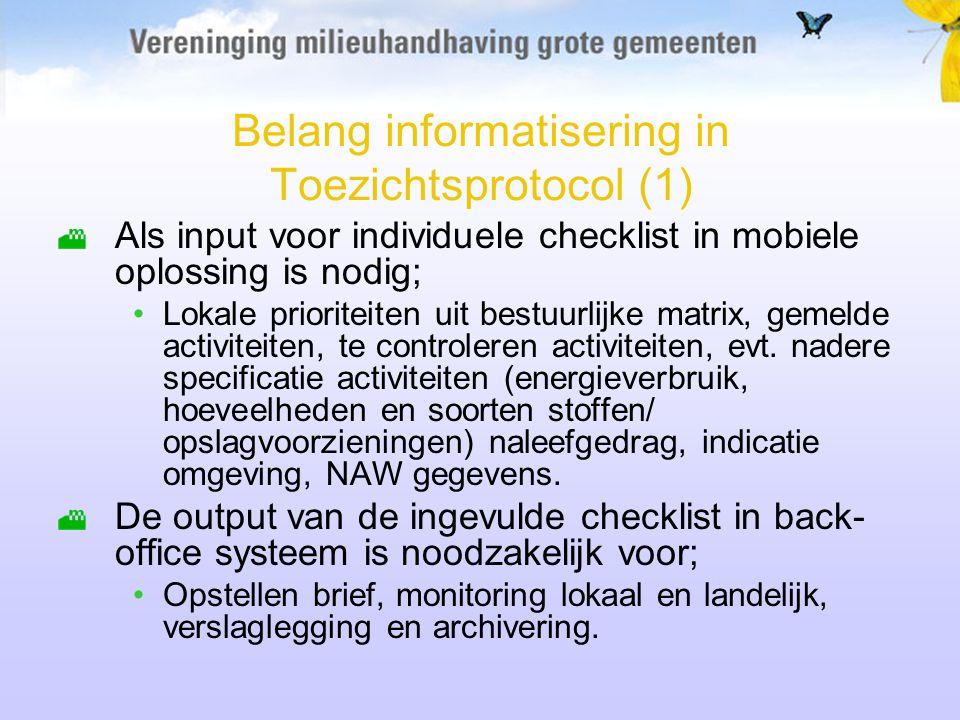Belang informatisering in Toezichtsprotocol (1)