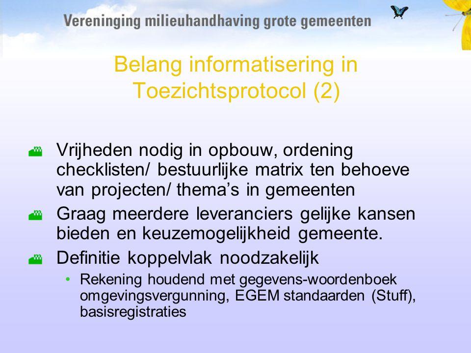 Belang informatisering in Toezichtsprotocol (2)