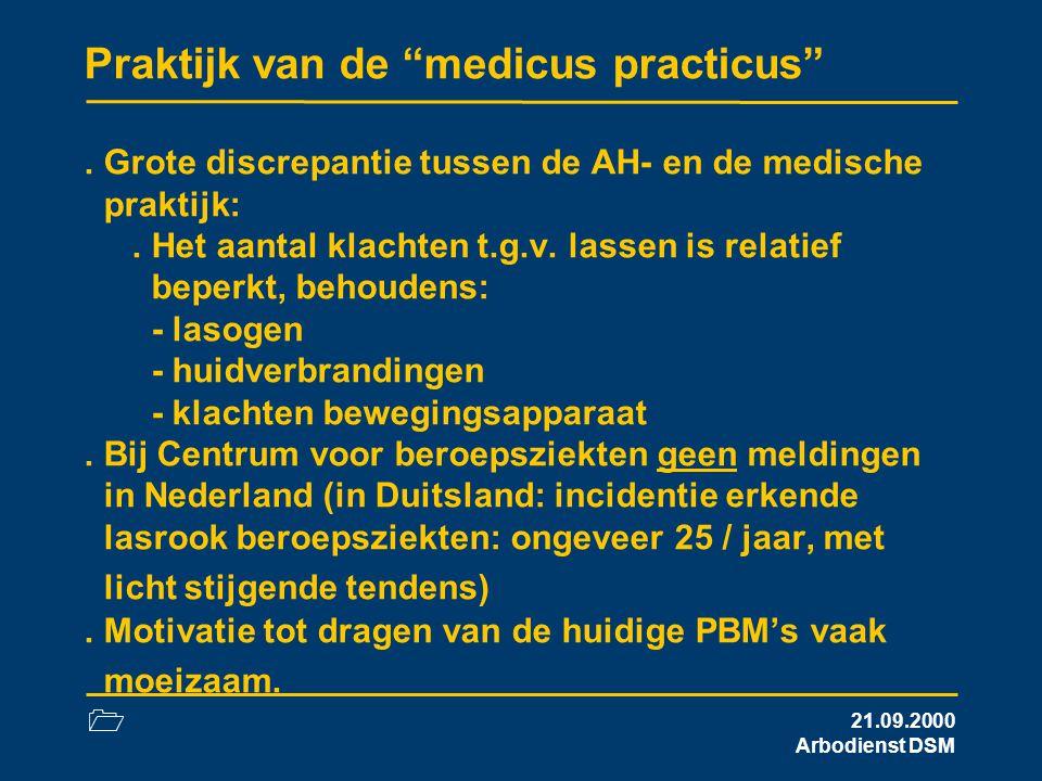 Praktijk van de medicus practicus