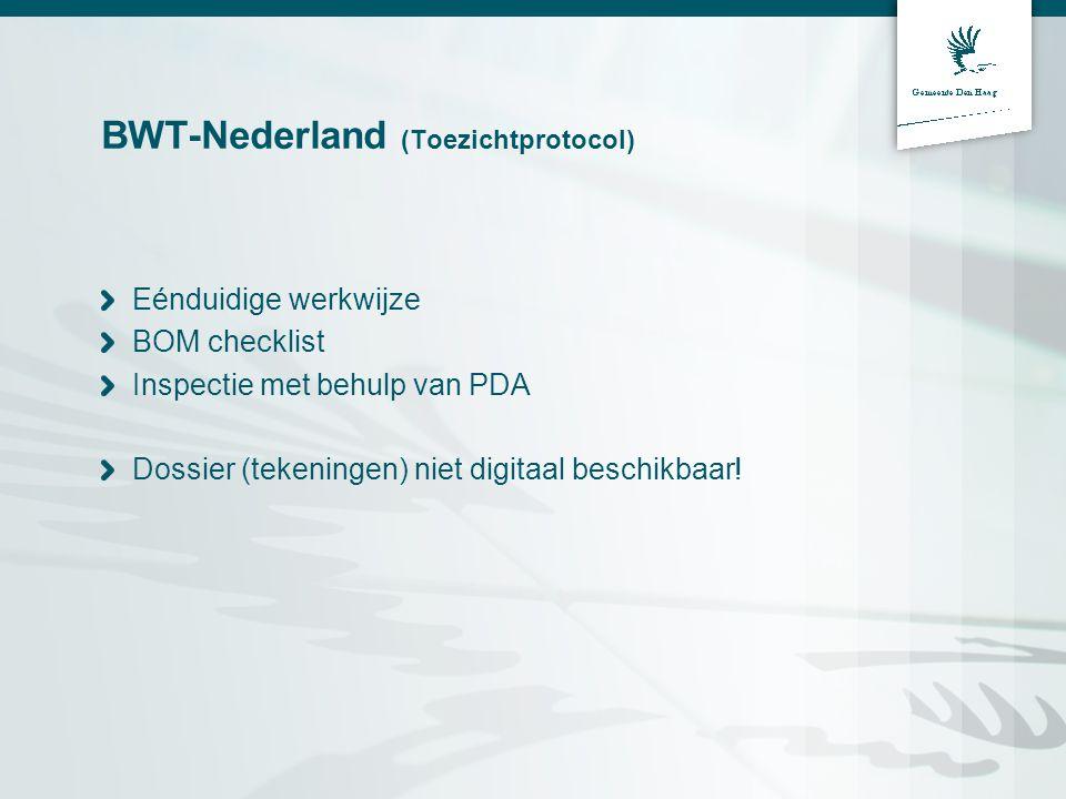 BWT-Nederland (Toezichtprotocol)