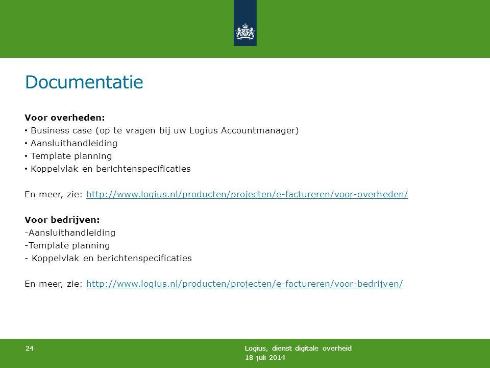 Documentatie Voor overheden: