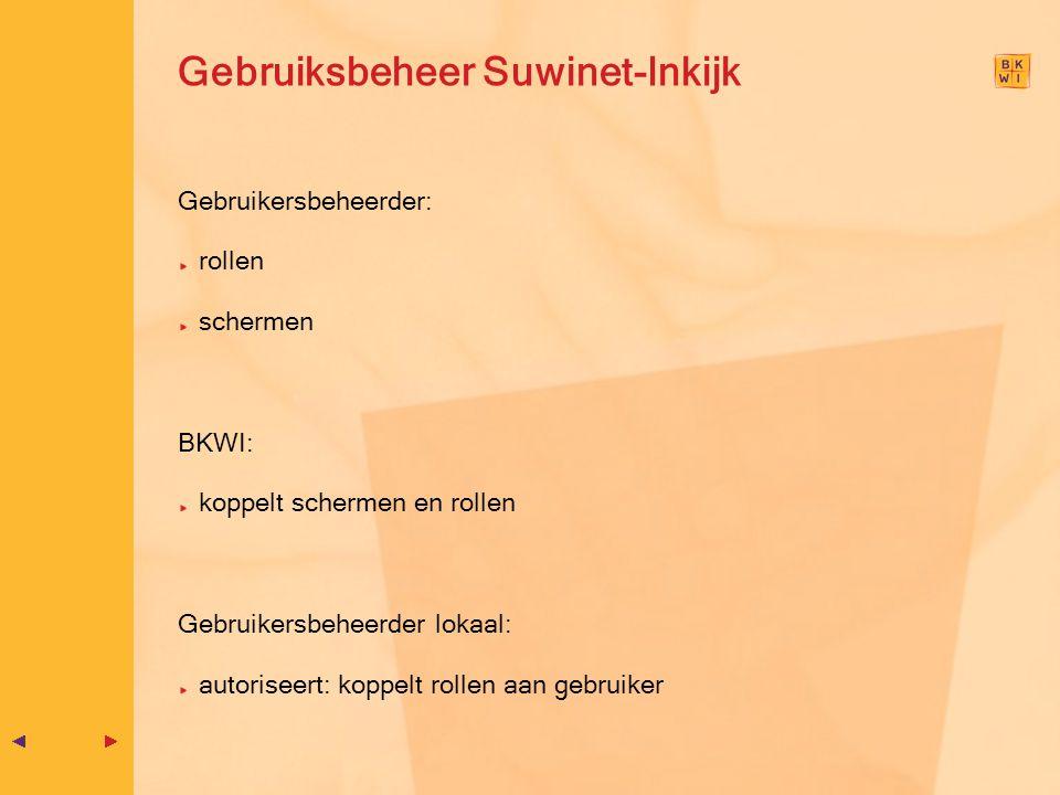 Gebruiksbeheer Suwinet-Inkijk