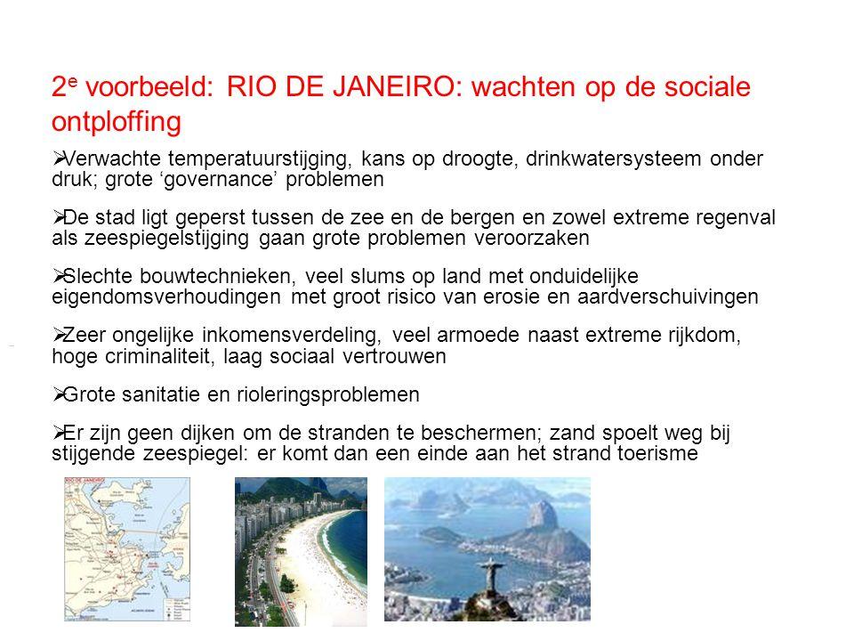 2e voorbeeld: RIO DE JANEIRO: wachten op de sociale ontploffing