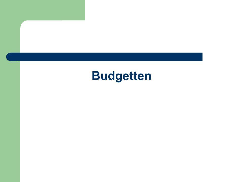 Budgetten