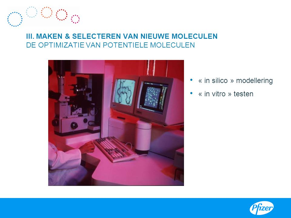 « in silico » modellering « in vitro » testen