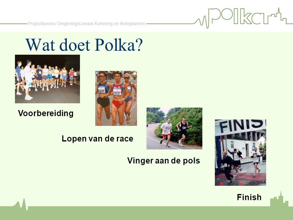 Wat doet Polka Voorbereiding Lopen van de race Vinger aan de pols