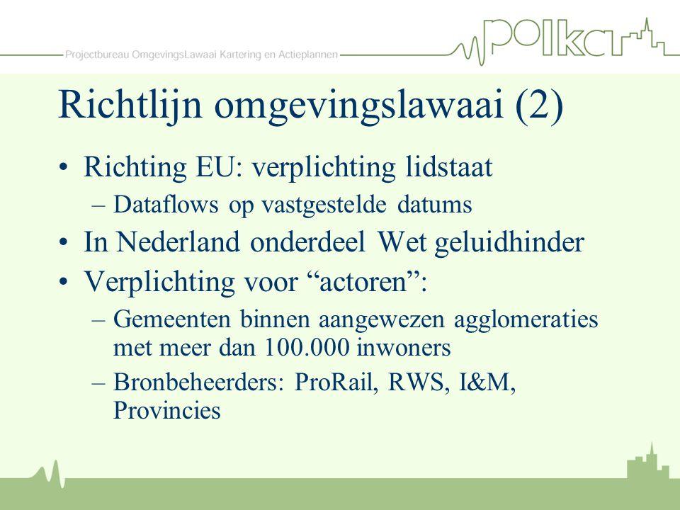 Richtlijn omgevingslawaai (2)