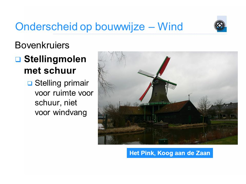 Onderscheid op bouwwijze – Wind