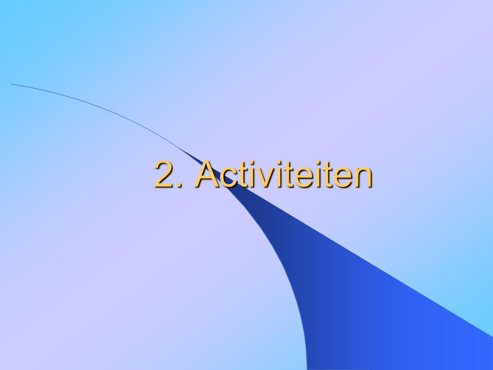 2. Activiteiten