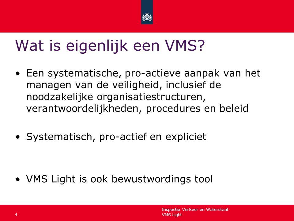 Wat is eigenlijk een VMS