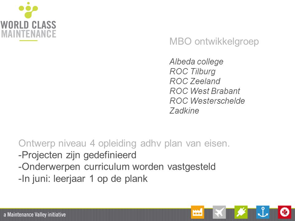Ontwerp niveau 4 opleiding adhv plan van eisen.
