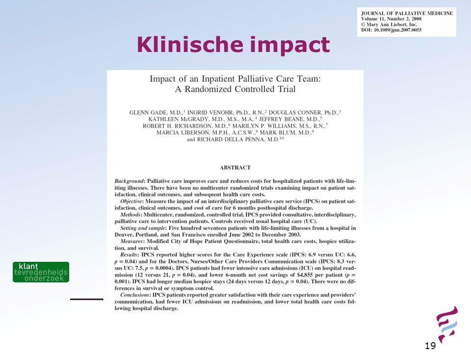 Klinische impact
