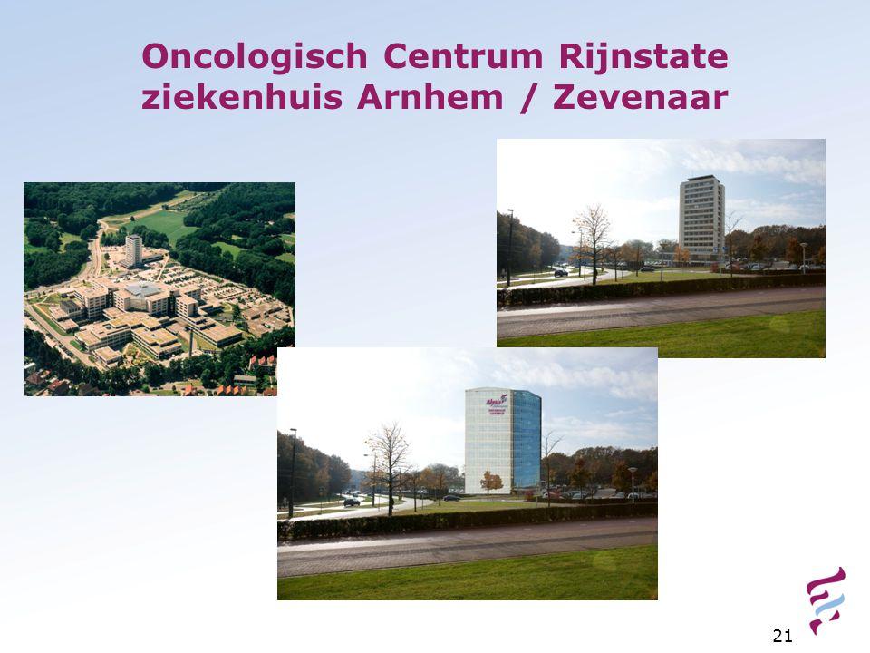Oncologisch Centrum Rijnstate ziekenhuis Arnhem / Zevenaar