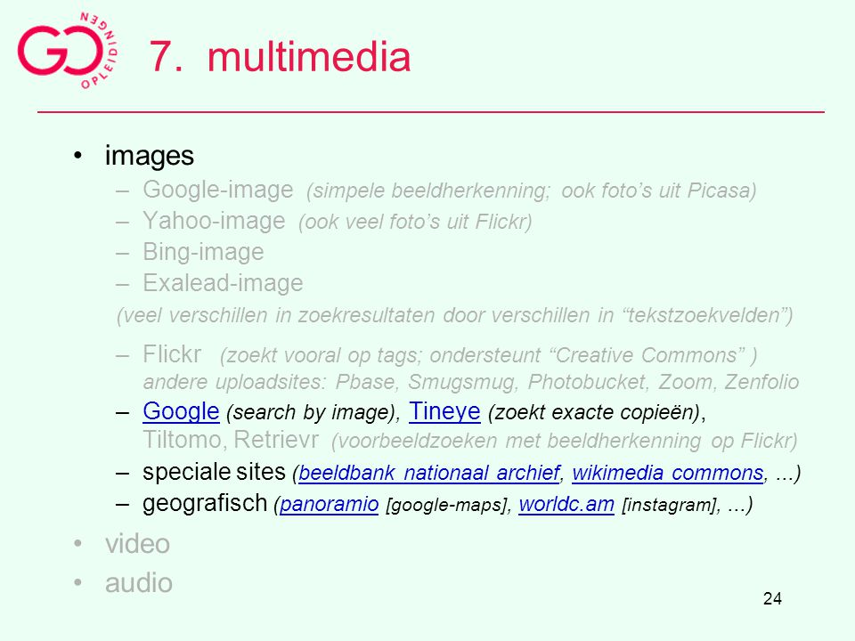 7. multimedia images video audio