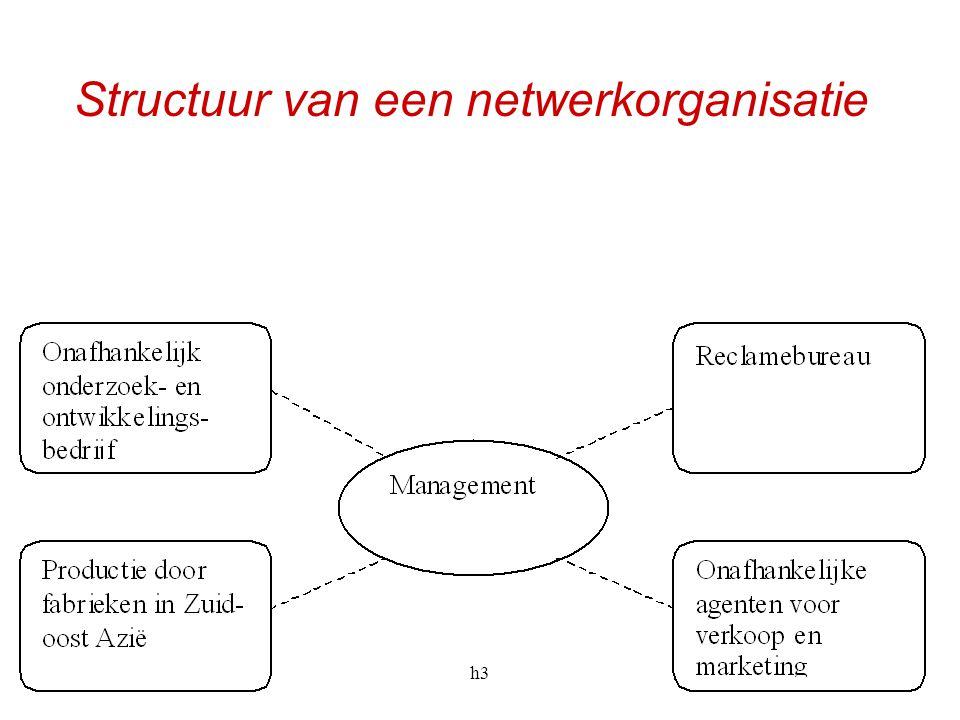Structuur van een netwerkorganisatie