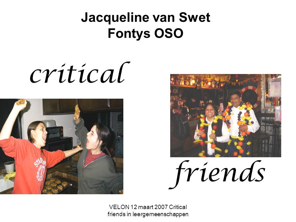 Jacqueline van Swet Fontys OSO