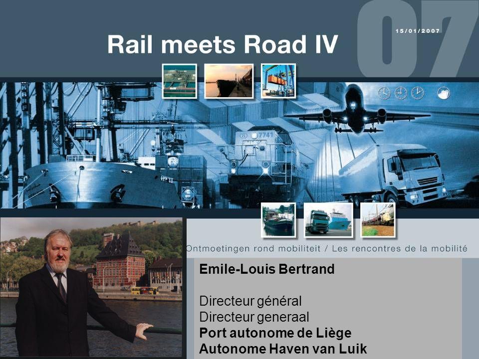 Emile-Louis Bertrand Directeur général. Directeur generaal.