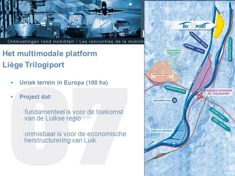 Het multimodale platform Liège Trilogiport