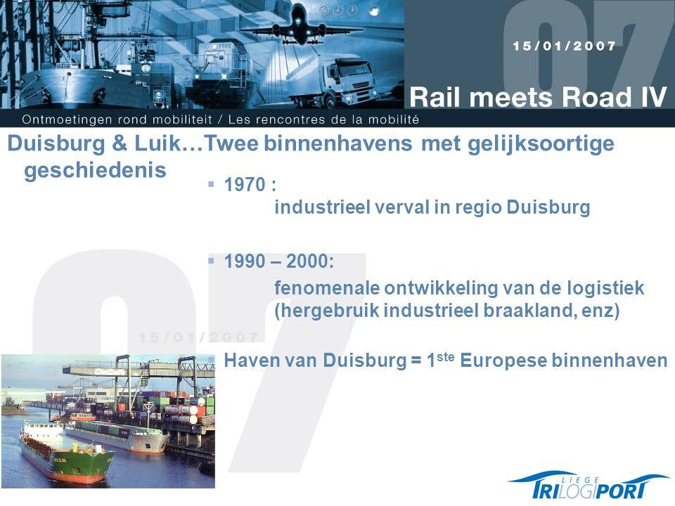 Duisburg & Luik…Twee binnenhavens met gelijksoortige geschiedenis